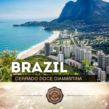 Brazílie Cerrado Doce Diamantina